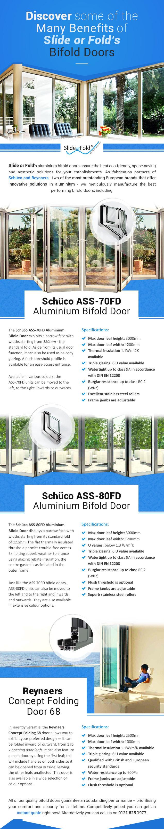 Benefits-of-Slide or Fold's Bifold Doors