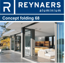 Reynaers Aluminium Concept Folding 68