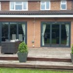 Outside Shot of Completed Bifold Doors Installation 2