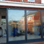 Finalisation of Completed Bifold Doors Installation
