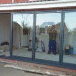 Finalisation of Completed Bifold Doors Installation 2
