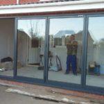 Finalisation of Completed Bifold Doors Installation 2