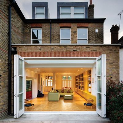 Open Bifold Doors
