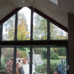 Bifold Doors with Custom Window