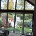 Bifold Doors with Custom Window 2