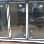 Bifold Doors being Adjusted to Size 2
