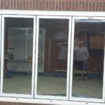 Completed Installation of Bifold Doors