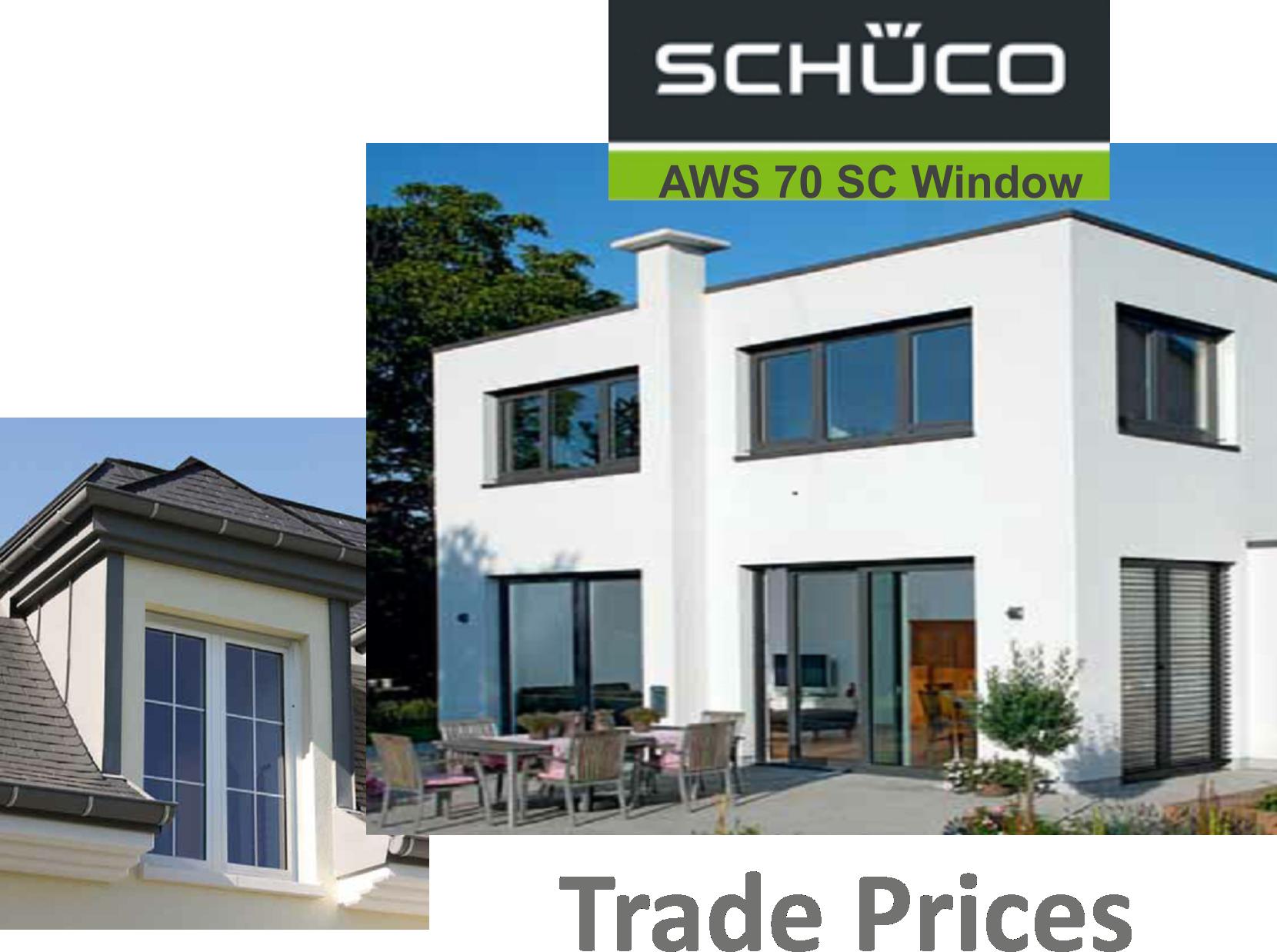 Schuco AWS 70 SC Window