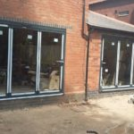 Completed Installation of Two Sets of Bifold Doors