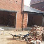 Bifold Doors Prior to Installation 2