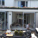 Terraced House Bifold Doors Installation
