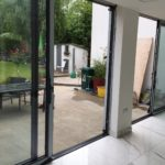 Inside Shot of Completed Bifold Doors Installation