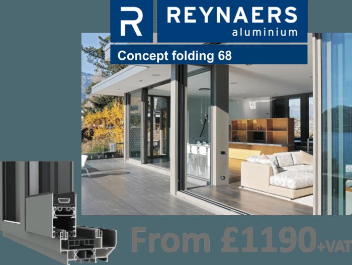 Reynaers Concept 68 Bifold Door