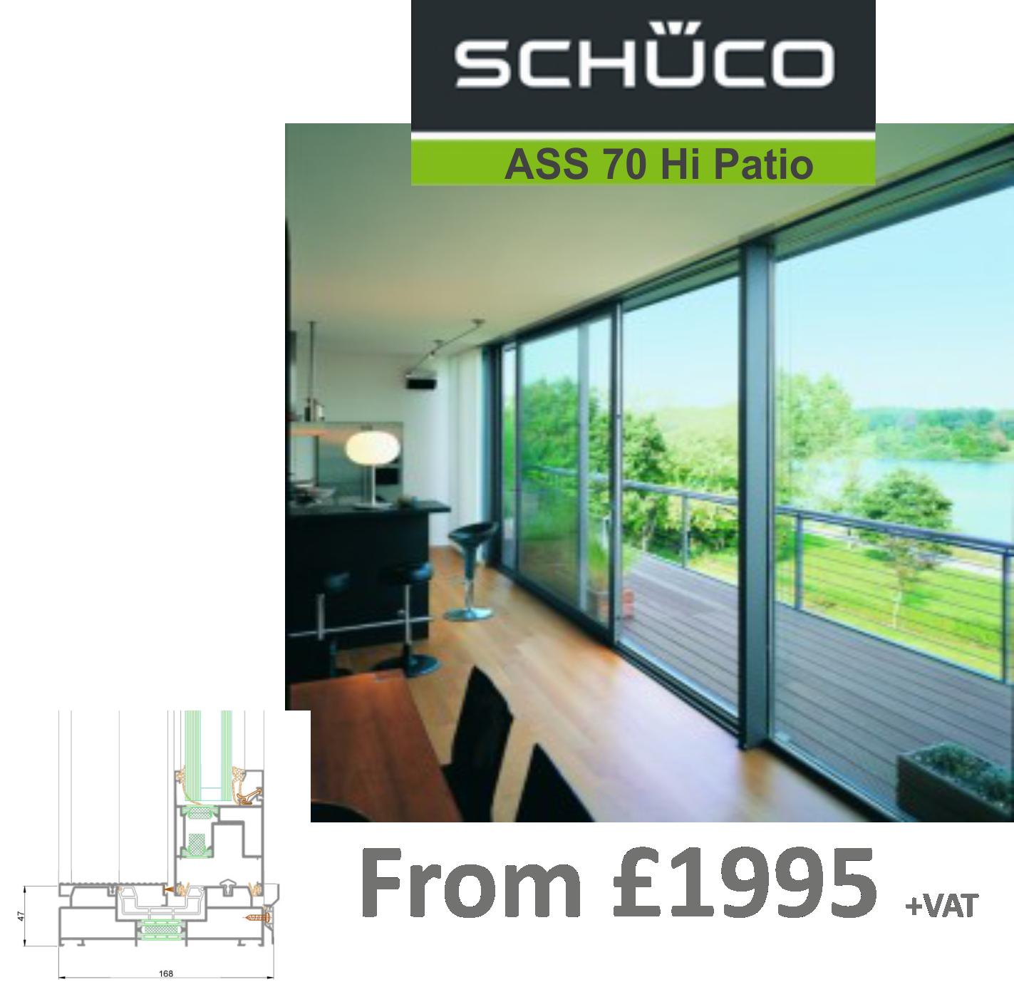 Schuco ASS 70 Hi Patio Door