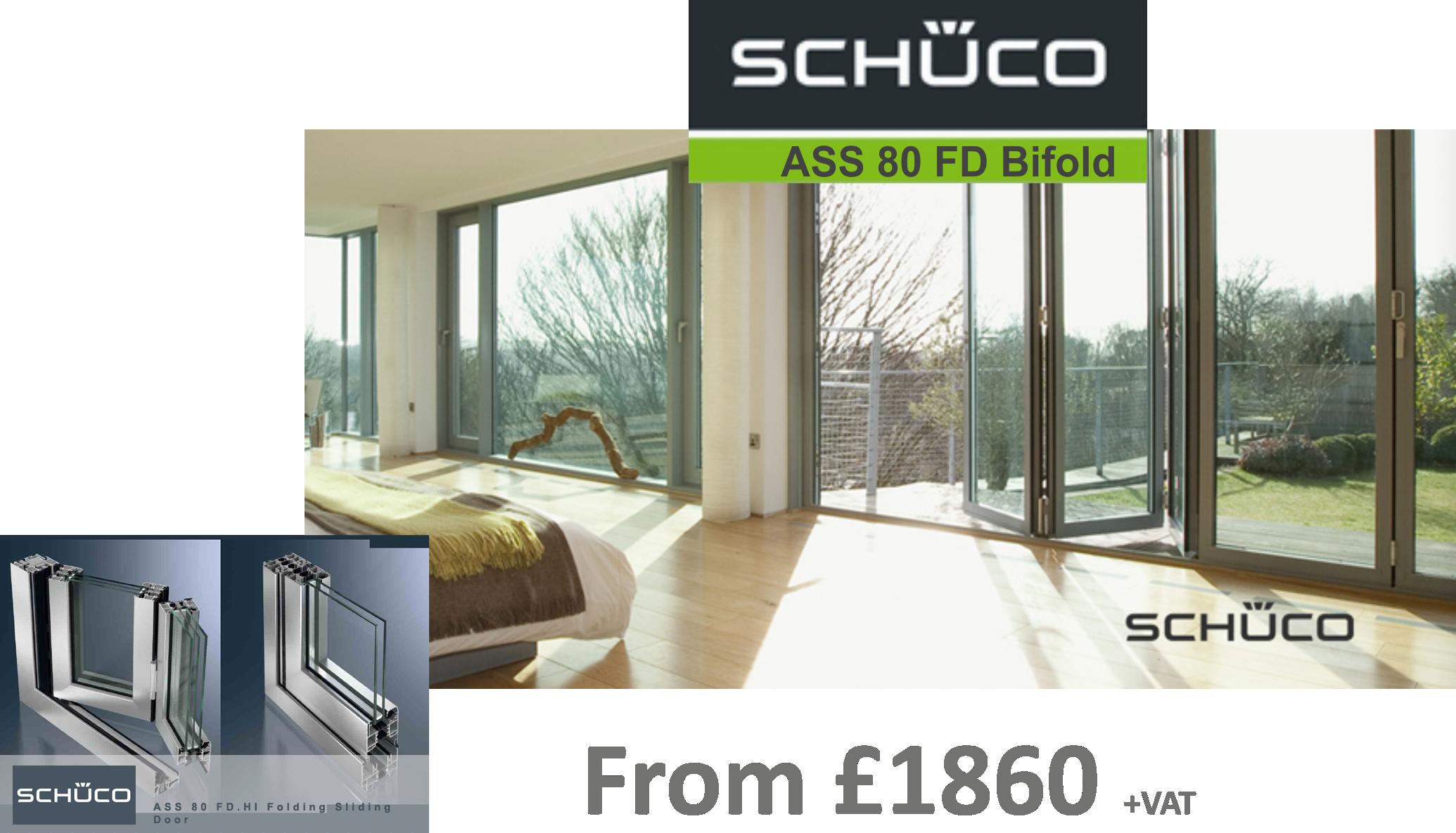 Slide or Fold Schuco ASS 80 FD Bifold