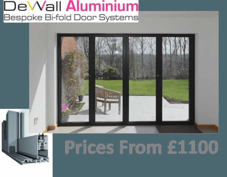 DeWall Aluminium Bespoke Bi-fold Door Systems