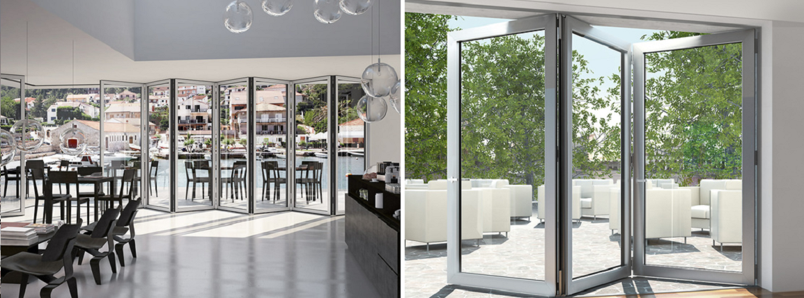 Schuco Bifold Doors ASS 70FD and ASS 80FD